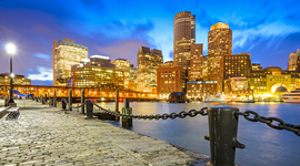 Business class flights to Boston